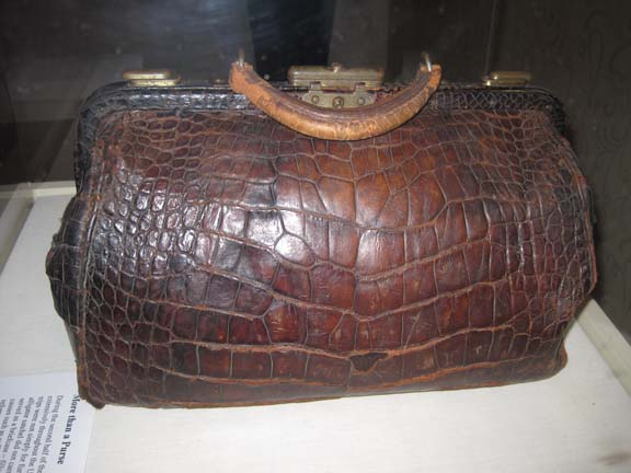 Ms. Anthony's Original Alligator Bag