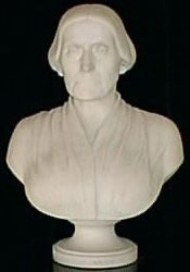 Marble Bust of Miss Anthony