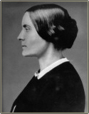 Susan B. Anthony's profile in her early thirties