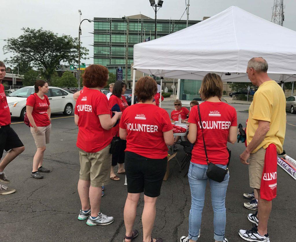 Anthony Museum volunteers for VoteTilla